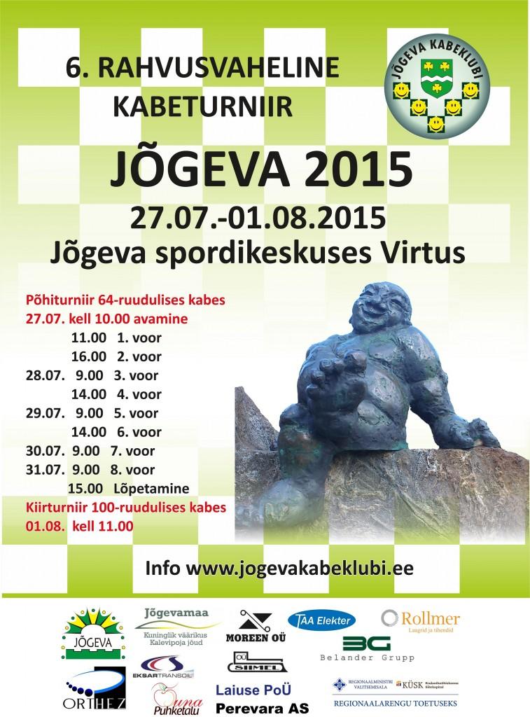 Plakat Jõgeva 2015